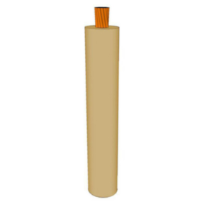 GXL Primary Wire 12 AWG XLPE Insulated, 60V, Tan