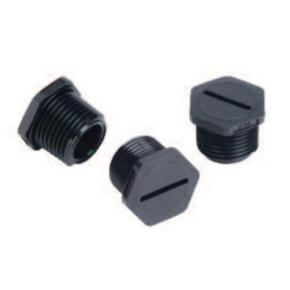 Plug, Nylon, Black