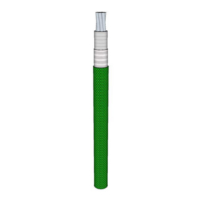 12 AWG, UL 5256 Lead Wire, 65 Strand, 250C, 600V, PTFE TAPE, Green