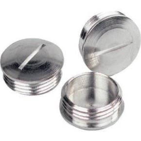 Plug, Nickel Plated Brass
