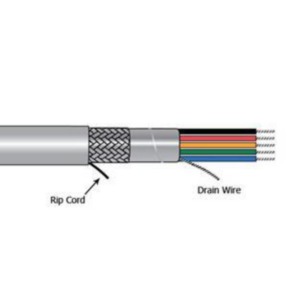 14 AWG, Multi-conductor Electronic Cable, 3 Conductor, Gray