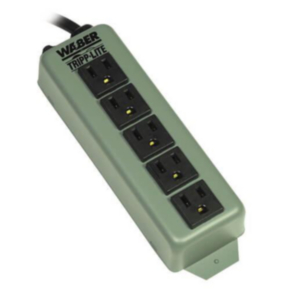 POWER STRIP 5 OUTLET 6 FT CORD NO SWITCH