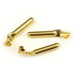 """Pin, 6, 2.48"""", Ground Right Angle Male, Brass"""
