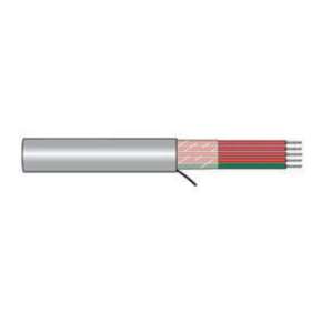 12 AWG, Multi-conductor Electronic Cable, 4 Conductor, Gray