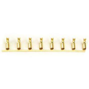 "Pin, 14, 0.66"", Ground Female, Brass"