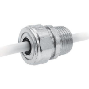 Flat Cable Cordgrip, Steel