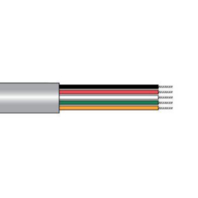 14 AWG, Multi-conductor Electronic Cable, 2 Conductor, Gray