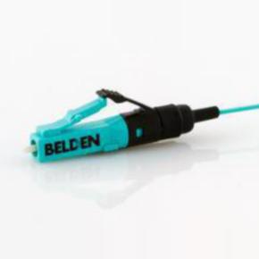 Fiber Optic Connector Moudlar Plug, LC, Aqua