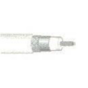 Flexible Low Loss Coaxial Cable, 20 AWG, Natural, 82907