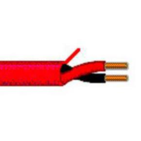 14 AWG Multi-Conductor Electronic Cable, 2 Conductor, Unshielded, Red, 5120UL