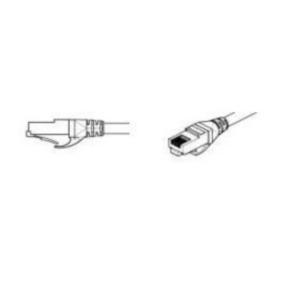 10' Network/LAN Patch Cord, Cat 6a, M - F, RJ45/RJ45, Black