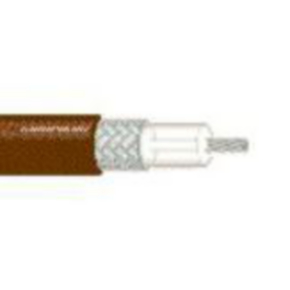 RG316/U Coaxial Cable, 26 AWG, Shielded, Brown, 84316