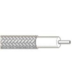 RG402/U Coaxial Cable, 19 AWG, Shielded, Silver, 1673A