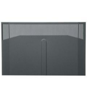 """Panel, 69.47""""x21.85"""", 38U, Steel, Black"""