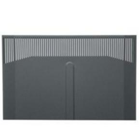"""Panel, 74.72""""x21.85"""", 41U, Steel, Black"""