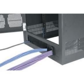 """Panel, 72.63""""x20.299"""", 41U, Steel, Black"""
