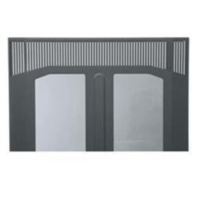 """Panel, 36.22""""x21.85"""", 19U, Steel, Black"""