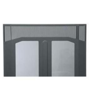 """Panel, 81.72""""x21.85"""", 45U, Steel, Black"""