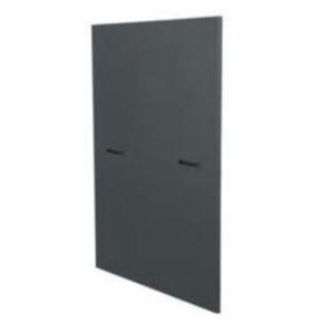 """Panel, 47.66""""x26.78"""", 25U, Steel, Black"""