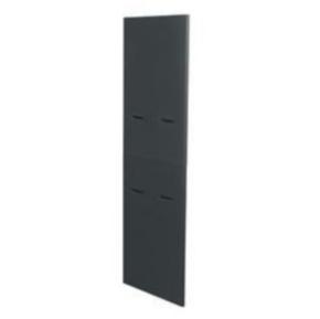 """Panel, 75.66""""x37.78"""", 41U, Steel, Black"""