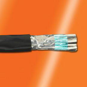 14 AWG, Multi-conductor Electronic Cable, 3 Conductor, Unshielded, Gray