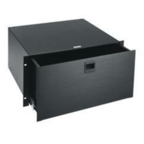 "Rack Drawer, 8.75""x19"", 50 LBS, 5U, Steel"