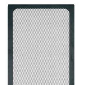 """Panel, 78.10""""x27.287"""", 44U, Steel, Black"""