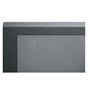 "Panel, 54.344""x20.375"", 29U, Steel, Black Powder Coat"