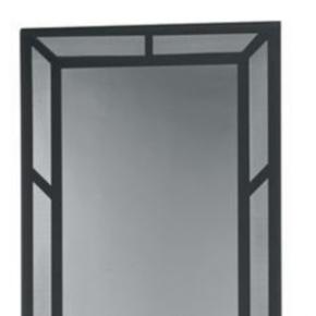 """Panel, 80.38""""x28.04"""", 44U, Steel, Black"""