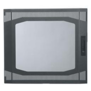 "Panel, 22.88""x21.375"", 12U, Steel, Gray"