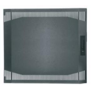 "Panel, 19.38""x21.375"", 10U, Steel, Gray"