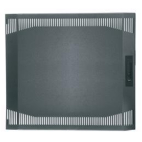 "Panel, 22.88"", 12U, Steel, Gray"
