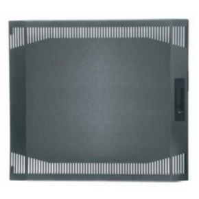 "Panel, 33.38""x21.375"", 18U, Steel, Gray"