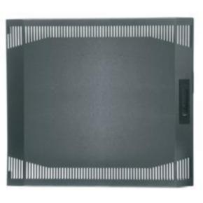 "Panel, 14.13""x21.375"", 7U, Steel, Gray"