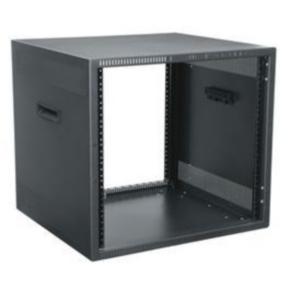 """Freestanding Rack, 22.875""""x21.375"""", 12U, Steel"""