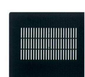 """Panel, 77.87""""x28.04"""", 44U, Steel, Black"""