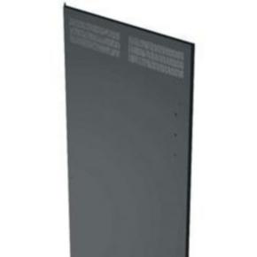 """Panel, 78.12""""x27.287"""", 44U, Steel, Black"""