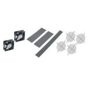Rack Fan Kit, 190CFM, Steel