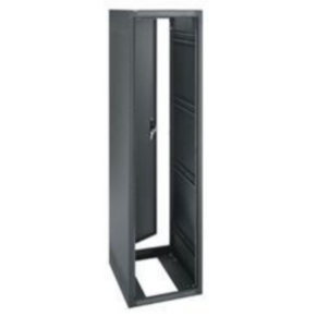"""Freestanding Rack, 81.125""""x22"""", 44U, Steel"""