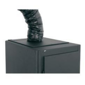 """Rack Duct Cooler System, 14.38""""x19.75"""", Steel"""
