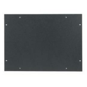 """Panel, 14.38""""x19.75"""", Steel, Black"""