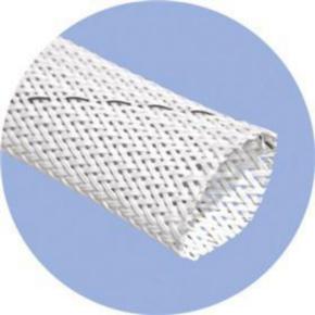 """Expandable Sleeve, Size 0.25"""", Halar, White"""