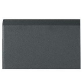 """Panel, 18.37""""x20.04"""", 12U, Steel, Black"""