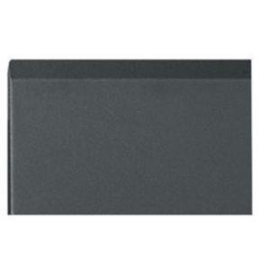 """Panel, 81.37""""x20.04"""", 46U, Steel, Black"""