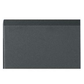 """Panel, 14.87""""x20.04"""", 8U, Steel, Black"""