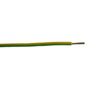 H07V-K <HAR> International Lead Wire, 8, 450/750V, PVC Insulated, Green/yellow
