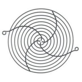 """Rack Fan, 6""""x6.625"""", Steel"""
