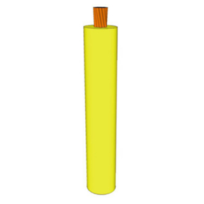 GXL Primary Wire 12 AWG XLPE Insulated, 60V, Yellow