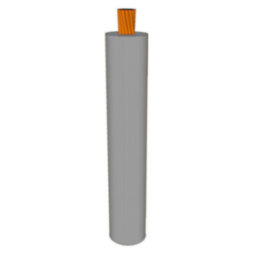 GXL Primary Wire 12 AWG XLPE Insulated, 60V, Gray