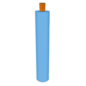 GXL Primary Wire 12 AWG XLPE Insulated, 60V, Light blue